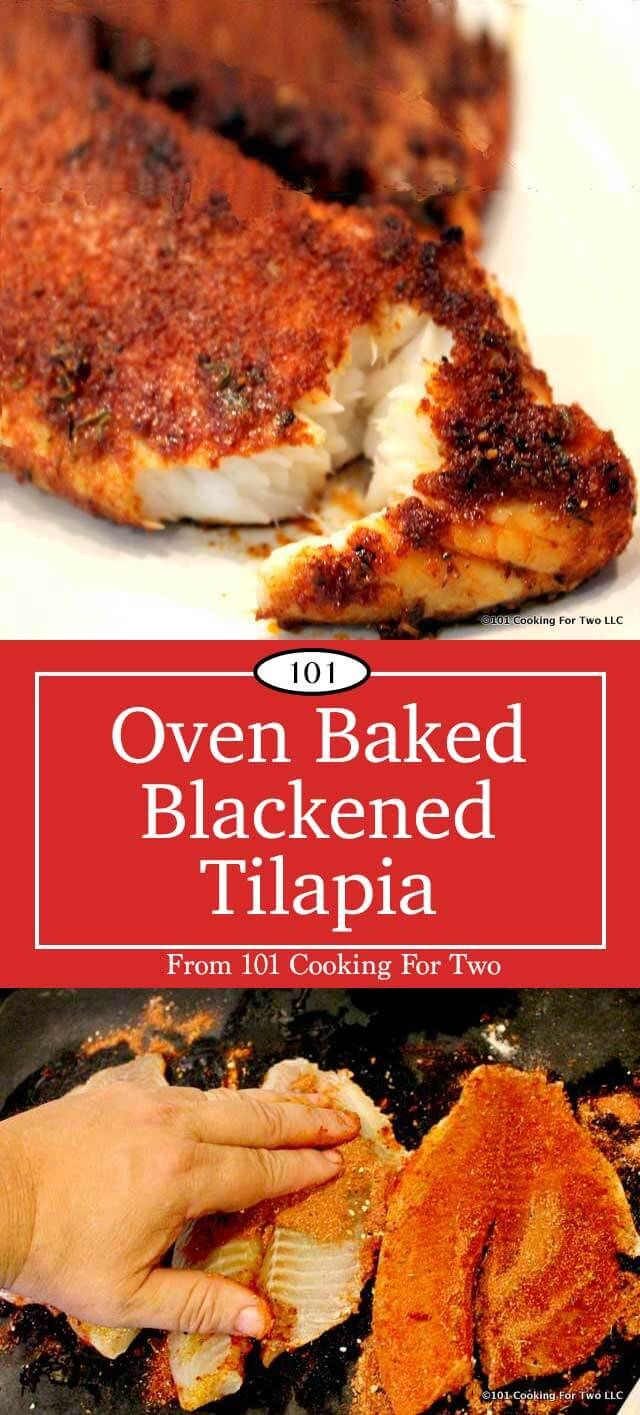 Blackened Tilapia is a wonderful dinner, or you can use it for some great fish tacos. While it is bursting with spicy goodness, it is adjustable to your heat tolerance. An easy and quick recipe that is much healthier than frying.