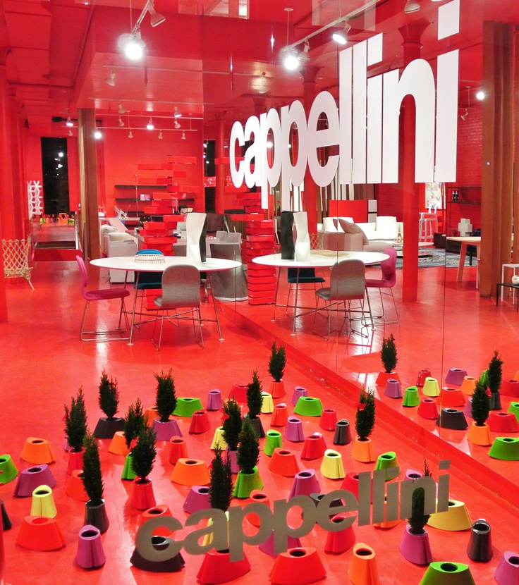 CAPPELLINI NY Showroom - Simone LeAmon for Palamont, special event