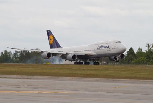 Lądowanie w Gdańsku / Landing in #Gdansk