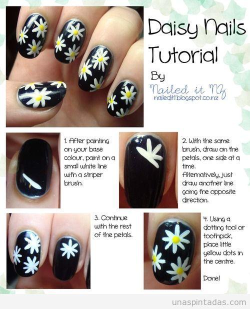 daisy-nails-tutorials-diseño-uñas-dibujo-margaritas-flores-facil.jpg (500×618)