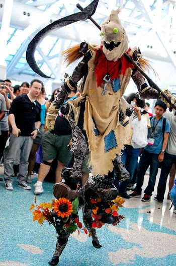 Fiddlesticks (League of Legends) cosplay