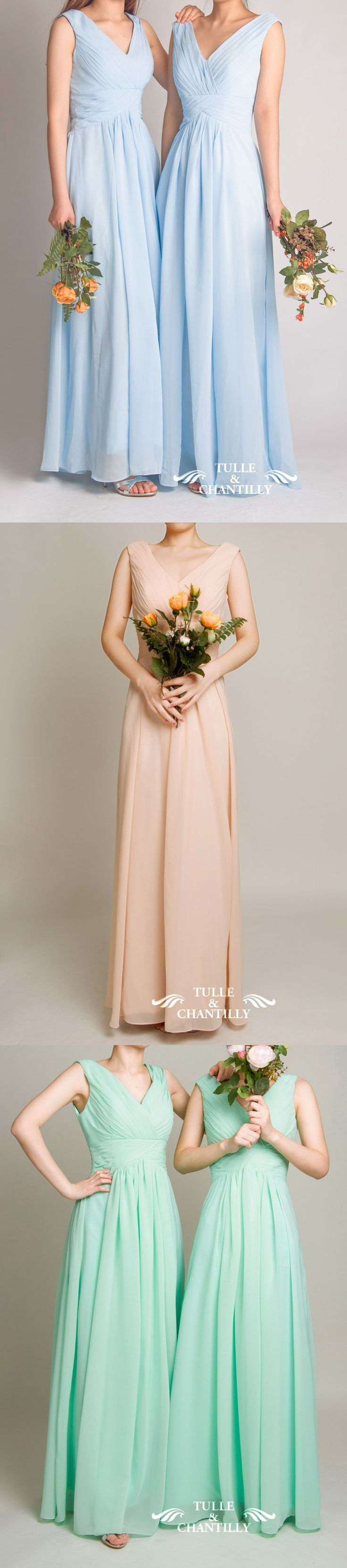 208 best bridesmaid dresses 2016 images on pinterest dresses long mauve v neck chiffon bridesmaid gown tbqp198 ombrellifo Images