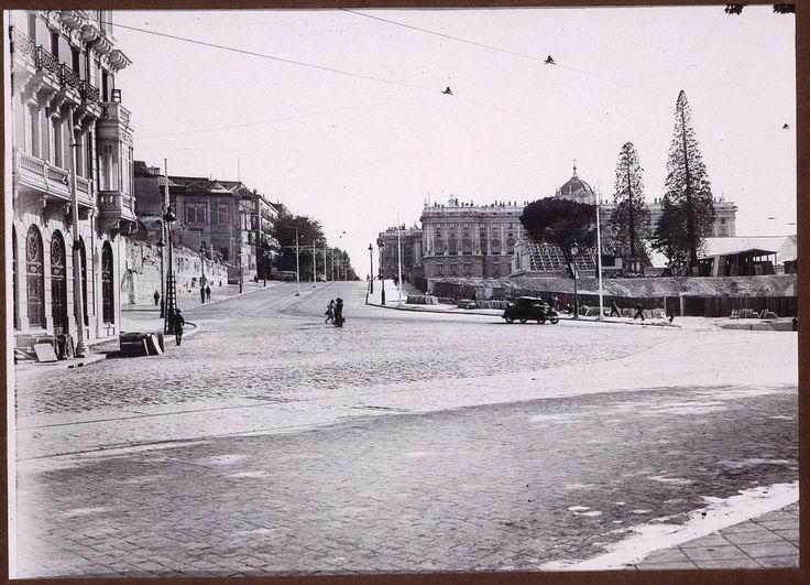 Plaza de España  Fecha:  1932