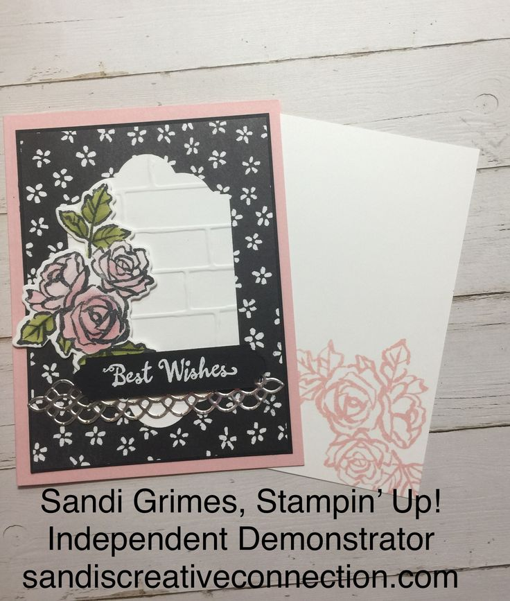 #Stampin'Up!, DIY PROJECT, GREETING CARDS, PAPERCRAFTING, PETAL PALETTE BUNDLE, PETAL PASSION SUITE VISIT WWW.SANDISCREATIVECONNECTION.COM