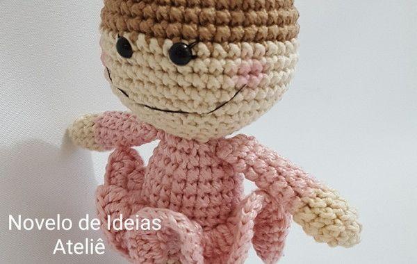 Boneca de crochê: +40 ideias com amigurumi fantásticas ... | 380x600