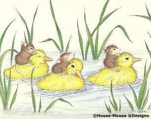 Mice On Duckies (House Mouse)