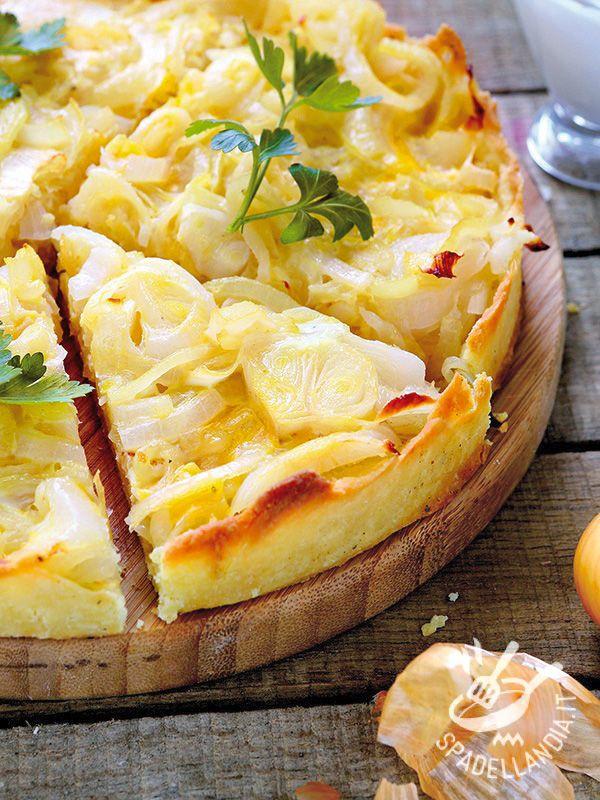 Per una cena, un antipasto, un finger food. La Quiche di cipolle unisce il sapore rustico della tradizione contadina alla delicatezza delle quiche.