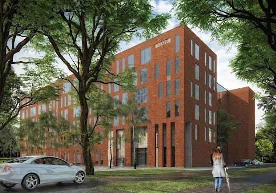 Jesteście ciekawi, jak będzie się prezentował nasz kampus po modernizacji? Mamy dla Was nowe wizualizacje jednego z budynków, a dokładnie obiektu oznaczonego jako 9A, który właśnie przechodzi gruntowny remont (fot. Zespół Projektowo – Inwestycyjny Kontrapunkt v-projekt).