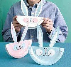 Recycled bunny craft ideas Paper plate and plastic plate bunny crafts for kids Plastic cup bunny craft idea Toilet paper roll bunny crafts for preschool ... & 37 best Bunny craft for kids images on Pinterest
