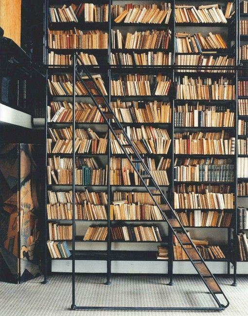 Maison de Verre bookcase (from a trip to Paris)