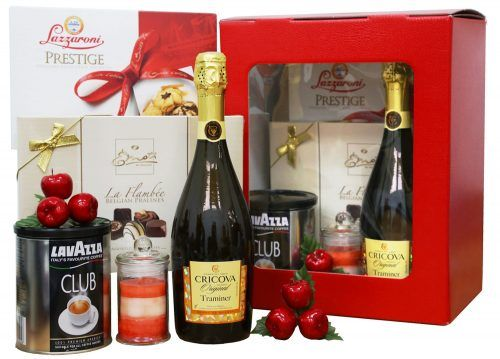 Pachet Cadou Christmas Red Gift Box