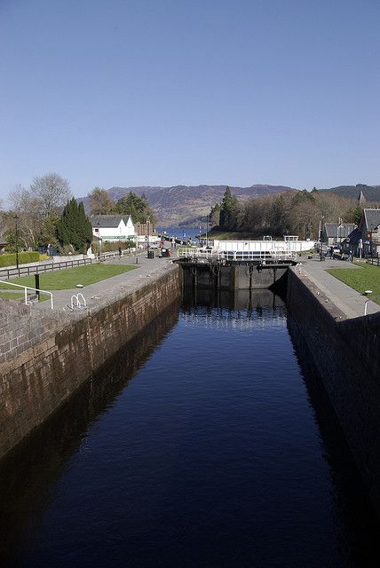 Caledonian Canal, Fort Augustus, Scotland
