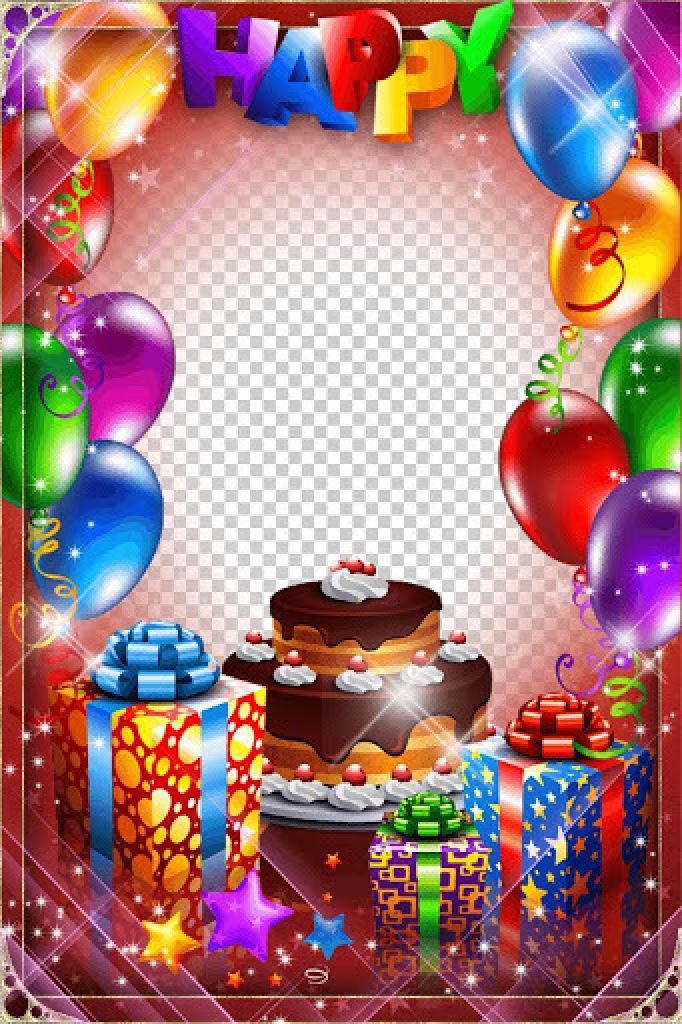 Birthday Collage Frame Png & Free Birthday Collage Frame