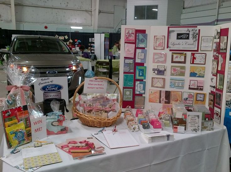 vendor showcase table for gb