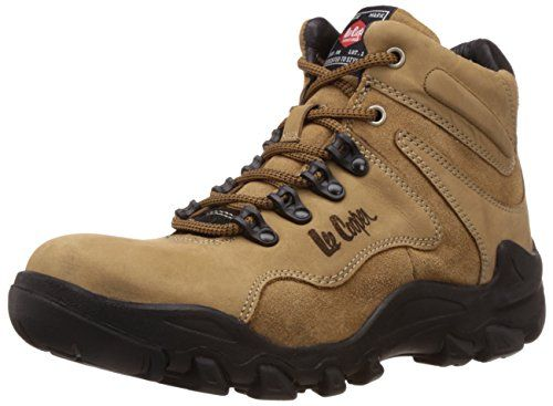 Lee Cooper Men's Leather Trekking and Hiking Boots - http://brandedstore.in/product/lee-cooper-mens-leather-trekking-and-hiking-boots/