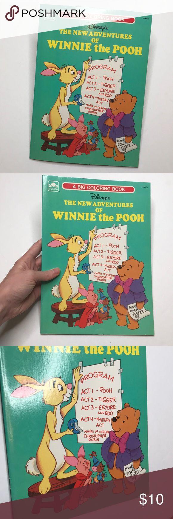 ? Disney Winnie the Pooh Vintage Malbuch ? Die süßesten 80er Jahre Vintage Di …