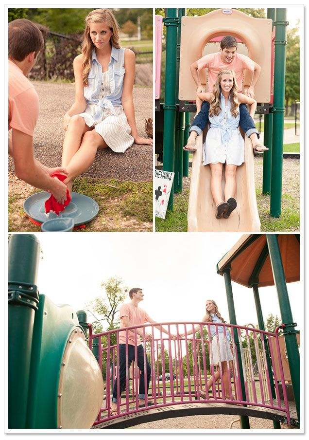 Playground Engagement Session by Adam + Alli Photography on ArtfullyWed.com