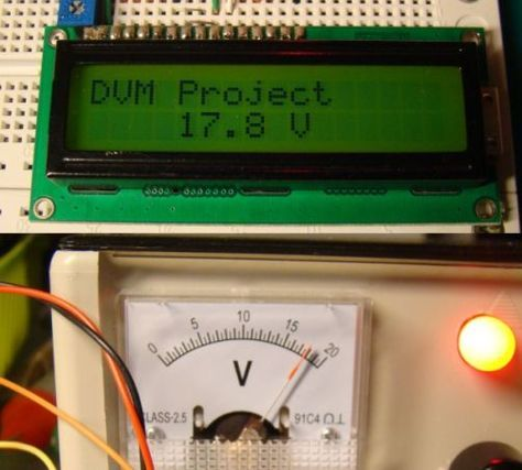 Introduction This project describes how to make a digital voltmeter using a PIC microcontroller. A HD44780 based character LCD is used to display the measured voltage. The PIC microcontroller used in this project is PIC16F688 that has 12 I/O pins out of which 8 can serve as analog input channels for the in-built 10-bit ADC.Read More