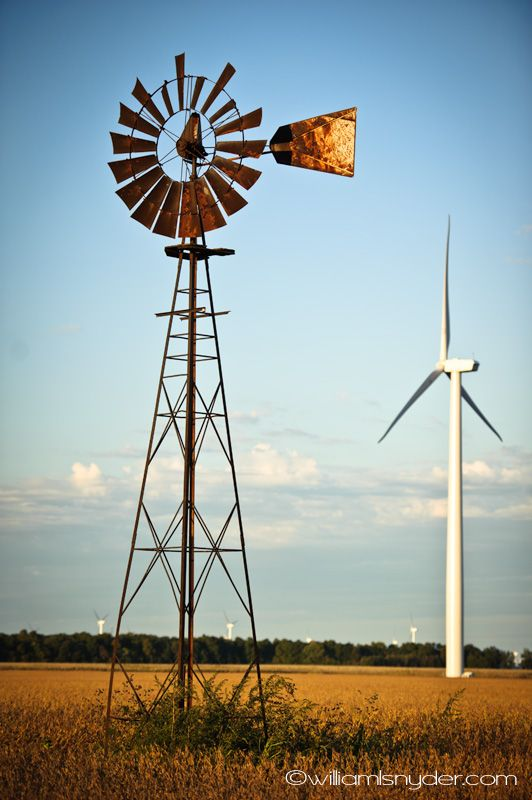 yesterday and today windmills