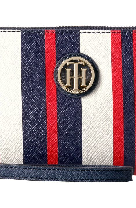 Tommy Hilfiger Tommy Painted Stripe Wristlet (Navy/Multi) Wristlet Handbags - Tommy Hilfiger, Tommy Painted Stripe Wristlet, 6937676-467, Bags and Luggage Handbag Wristlet, Wristlet, Handbag, Bags and Luggage, Gift - Outfit Ideas And Street Style 2017
