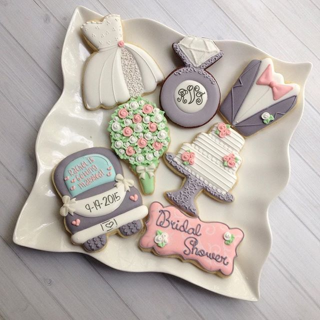 Top 25 Ideas About Wedding Cookies On Pinterest