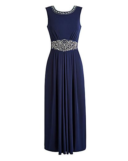 JOANNA HOPE Jewel Trim Maxi Dress | Oxendales
