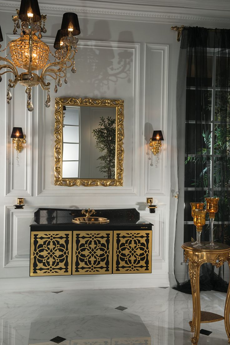 Best Black and Gold Bathroom Images Ongold