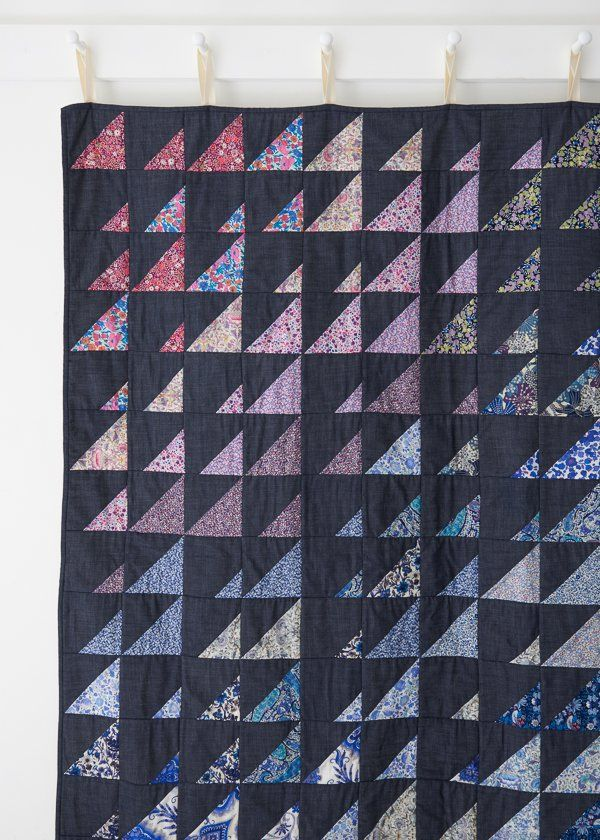 Prism Quilt in Liberty of London, Cool Bundle
