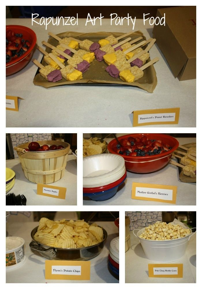 178 Best Rapunzel Birthday Party Images On Pinterest