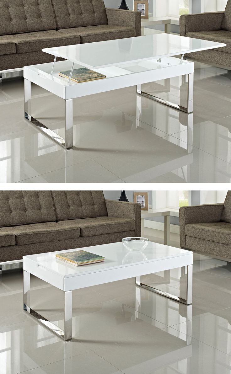 Modern Lift Top Coffee Table Woodworking Projects Amp Plans