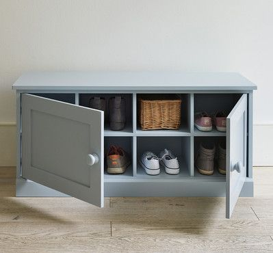 Shoe bench with doors - The Dormy House