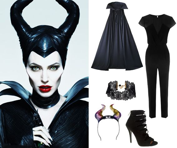 10 Best 2014 Pop Culture Halloween Costumes - Disney Villain Maleficent from #InStyle