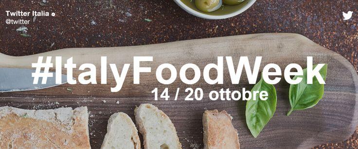 Twitter lancia l'#ItalyFoodWeek