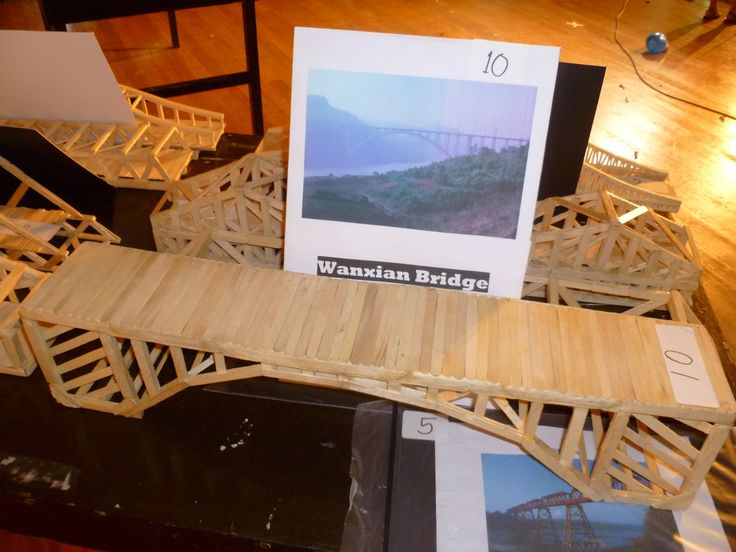 DIGital Structures: Model Popsicle-Stick Bridges of the Bridges in Asia
