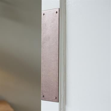Keep your #doors looking their best by adding a simple and stylish rectangular #finger #plate.