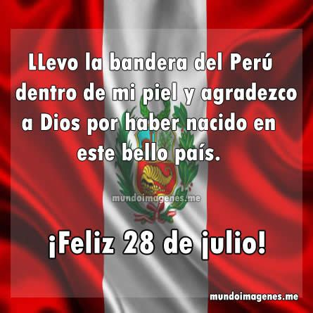 Bonitas Imagenes Con Frases De Felices Fiestas Patrias Peru - Mundo Imagenes Frases Actuales
