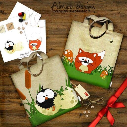 #shopper #shopperbag #originalbag #almesdesign