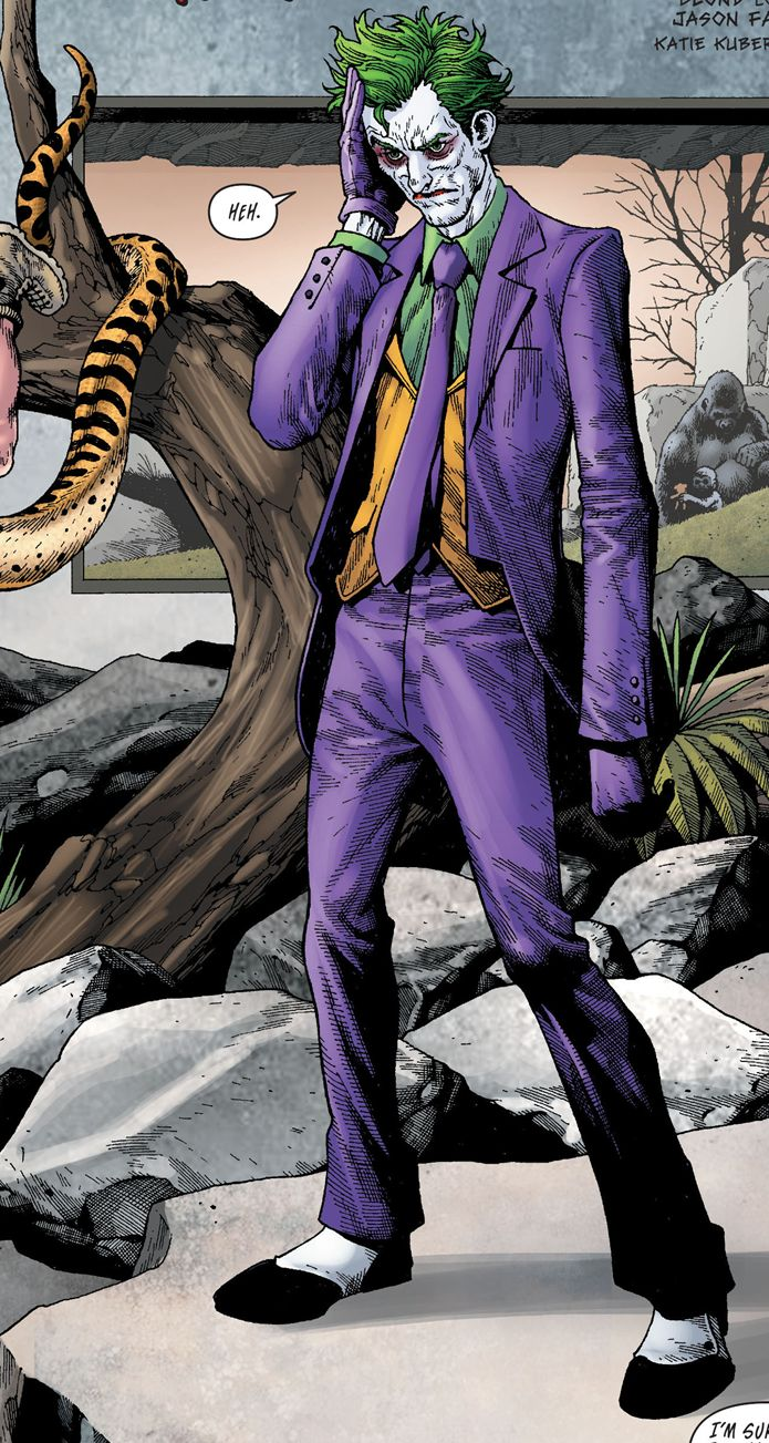 """marvel-dc-art: """" Batman v2 #23.1: The Joker - """"Time to Monkey Shine"""" (2013) pencil & ink by Andy Clarke color by Blond """""""