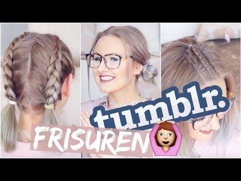 TUMBLR Frisuren - Einfacher als gedacht?? | ViktoriaSarina - YouTube