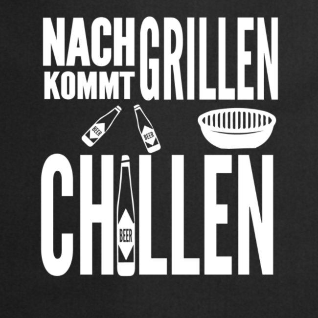 Grillprofi Schürze Grillschürze Spruch BBQ Grillen Bier Geschenk Idee Lustig Neu