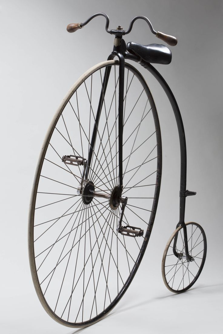 English-made Cogent penny-farthing bicycle belonging to Harry Clarke, 1884  National Museum
