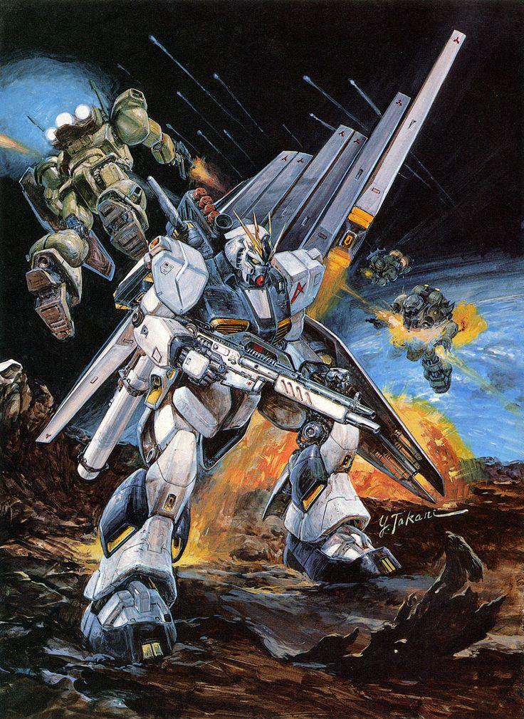 ニューガンダム - 高荷義之 | New Gundam by Yoshiyuki Takani *