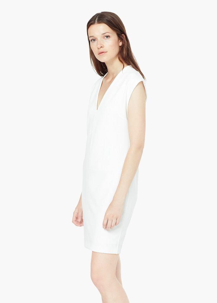 Robe droite - Robes pour Femme | MANGO France