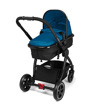Mothercare Journey Black Travel System - Teal