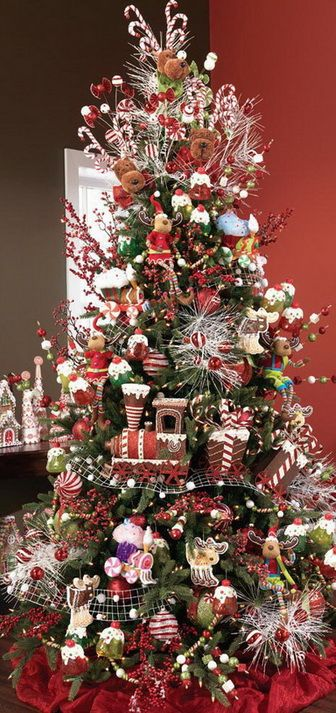 Christmas tree decorating ideas 12 diy tips tricks for Christmas decoration 94