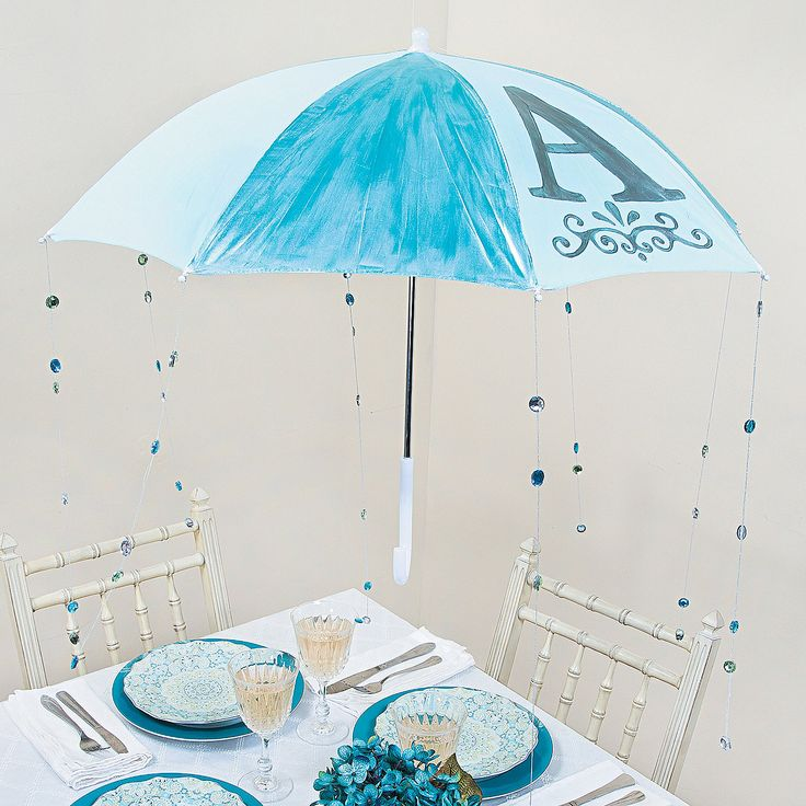 Baby shower umbrella decoration for Baby shower umbrella decoration ideas