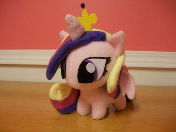Princess Cadence Pony Plush Handmade Custom My by BabyPonyMagic, $64.50