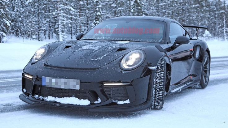ICYMI: 2019 Porsche 911 GT3 RS spied completely uncovered