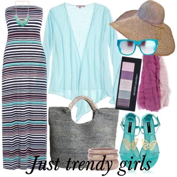 beach striped dress Comfortable casual wear for woman http://www.justtrendygirls.com/comfortable-casual-wear-for-woman/