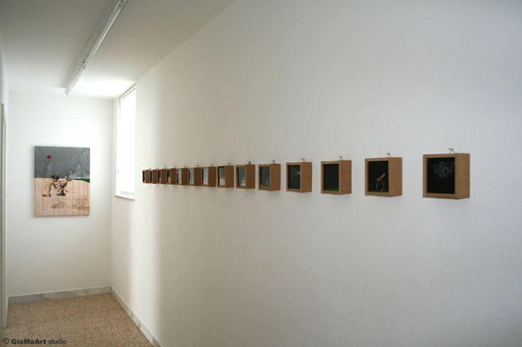 Linda Carrara Alchimia del buio a cura di Anna Lisa Ghirardi - marzo 2012